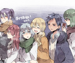 Akashi, kise, and anime friends image