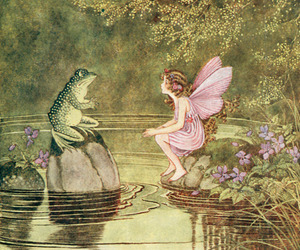 fairy and frog image