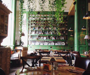 cafe, green, and inspiration image