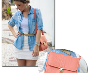 bags, beauty, and jeans image