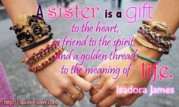 20 Emotive Quotes About Sisters On We Heart It