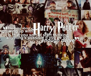 books, film, and harry potter image