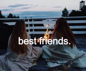 Best, bff, and campfire image