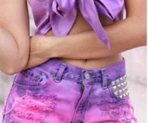 short shorts and cute girly shorts image