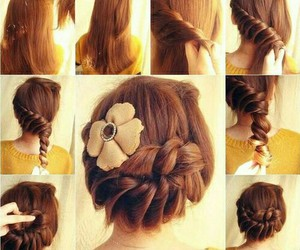 fashion, girl, and hair style image