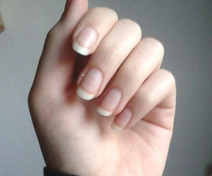 hand, nails, and pale image