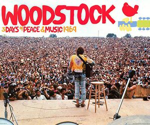 woodstock, music, and peace image