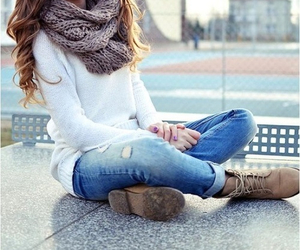 clothing, winter, and cool image