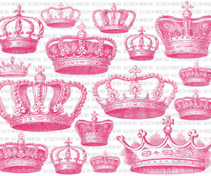 crown, printable, and illustration image