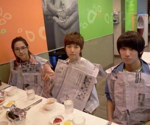 b1a4, gongchan, and cnu image