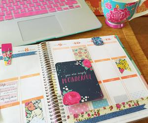 adorable, agenda, and colorful image