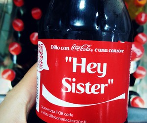 coca, sister, and style image