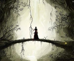 fantasy, art, and dark image