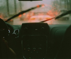 rain and car image