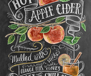 apple, autumn, and cider image