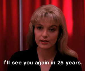 25 years, agent cooper, and david lynch image