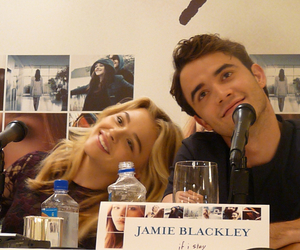 if i stay, chloe moretz, and jamie blackley image