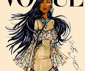 vogue, pocahontas, and disney image