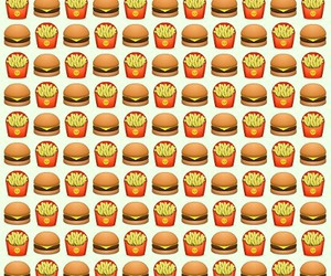 background, burger, and food image