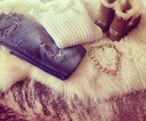 fashion, uggs, and jeans image