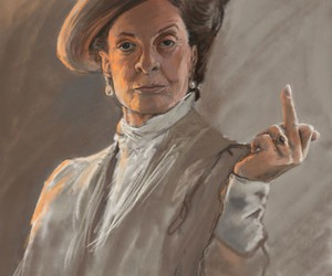 harry potter, maggie smith, and art image
