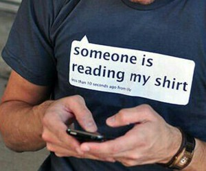 funny, reading, and t-shirt image