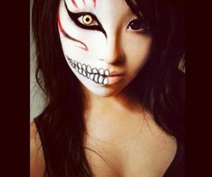 asian, makeup, and Halloween image