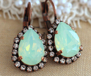 jewelry, christmas gift, and mint opal image
