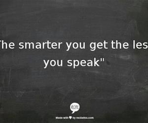 quote, speak, and smart image