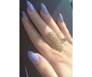 bling, hipster, and gel nails image