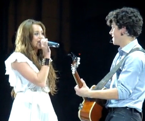 concert, cyrus, and miley cyrus image
