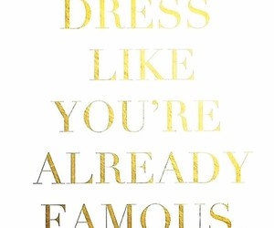 quote, fashion, and famous image