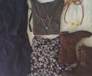 boho, boots, and charlotte russe image