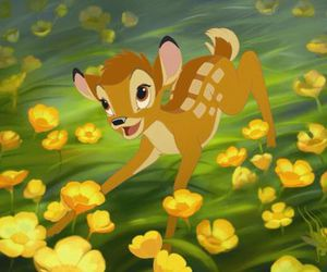 animal, bambi, and disney image