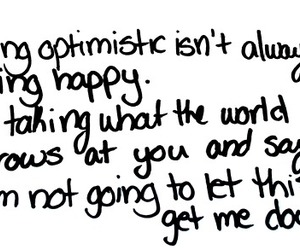 optimist, quote, and text image
