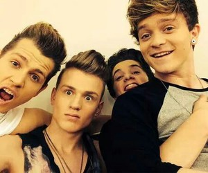 the vamps, bradley will simpson, and connor ball image