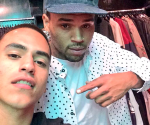 breezy, chris brown, and cb image