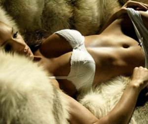fur, lingerie, and sexy image