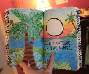 wreck this journal, art, and color image