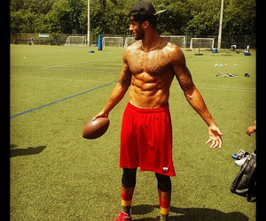 football, 49ers, and abs image