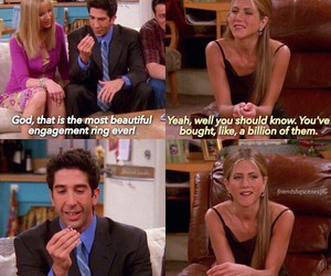 funny, rachel, and ross image