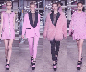 collection, runway, and fur image