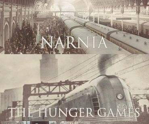 narnia, harry potter, and divergent image