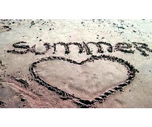 heart, summer, and cute image