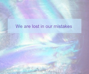 colors, lost, and mistakes image