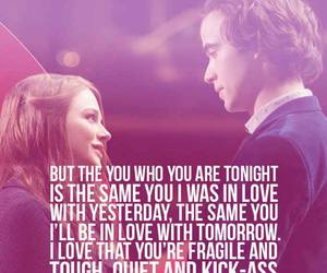 quote, if i stay, and book image