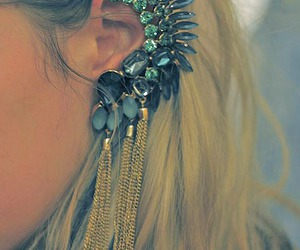 earrings, style, and cool image