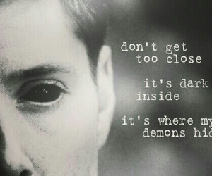 demon, supernatural, and dean winchester image