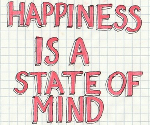 happiness, quote, and mind image