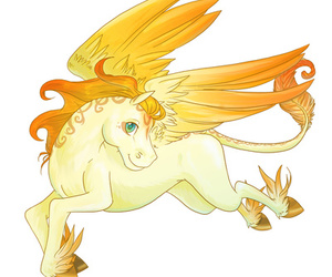 baby, pegasus, and chibi image